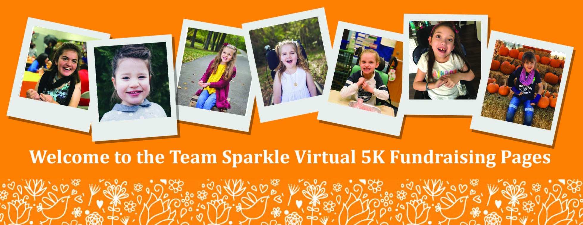 2019 Team Sparkle Virtual 5K Fundraising Pages